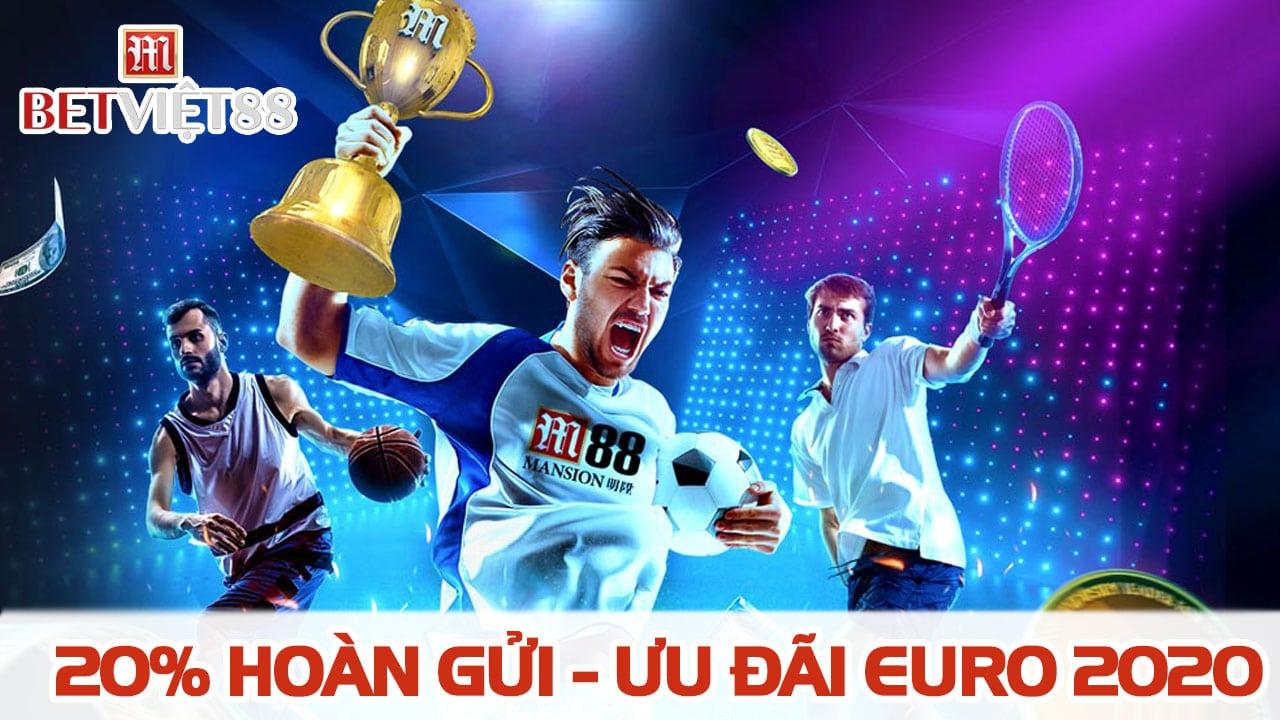 Khuyến mãi M88 mùa giải UEFA EURO 2020