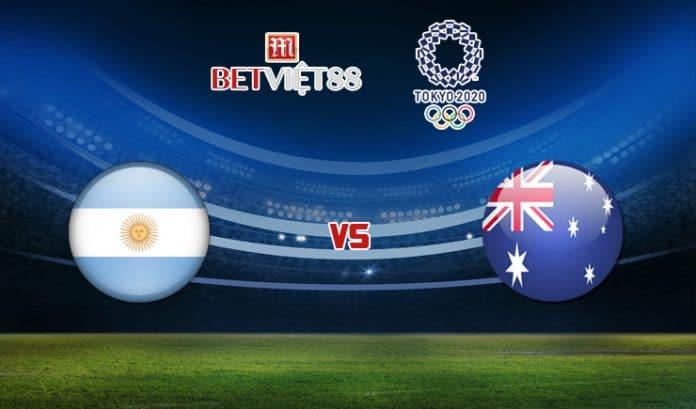 Soi kèo bóng đá trận U23 Argentina vs U23 Australia - 22/07/2021