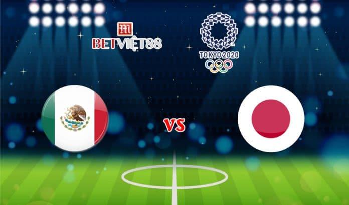 Soi kèo bóng đá trận U23 Mexico vs U23 Nhật Bản - 06/08/2021